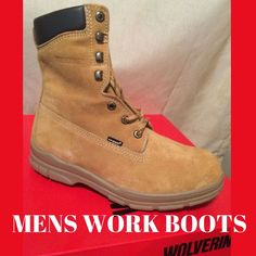 Wolverine Men's Gold Insulated Waterproof Boot Trappeur SZ 8 Safety Military NEW #Wolverine #WolverineMensGoldInsulatedWaterproofBoot