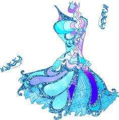 Katarine Buttterflix dress by Sky6666.deviantart.com on @DeviantArt