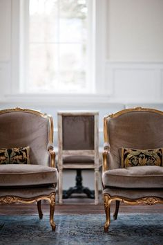 brown chairs