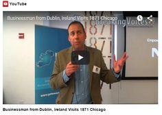 Video of John Finnegan promoting the Startup Gathering in the US Dublin, Ireland, Chicago, How To Plan, Irish