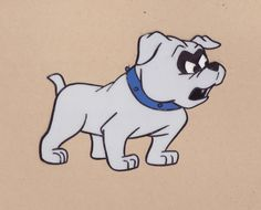 BANDIT  original animation cel from Jonny Quest 1965  Note: This item has been sold.