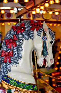 Carousel Horses.    /So very beautiful EL./