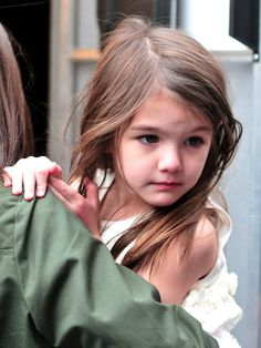 Suri Cruise- actress from childhood. Guess why some kids are born with talent? Even I don't know...:(