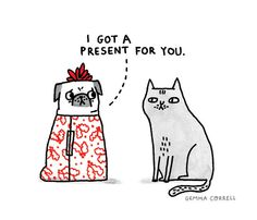 Gemma Correll - That's the best present to get!