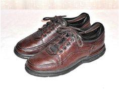 Rockport Pro Walker Brown Leather Casual Walking Oxford Shoe Men's 9.5 M #Rockport #CasualWalkingOxford