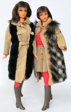 "Living Barbie´s in #3491 ""Suede´n Fur"" 1972"