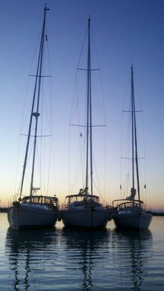 #lifeproofblue    Catalina sailboats rafting up for New Years eve 2012.