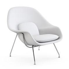 Womb Chair | Designed by Eero Saarinen, Finnish American | Retaier, Knoll, American