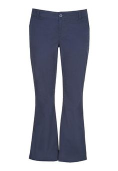 plus size chino pant in navy (original price, $42) available at #Maurices
