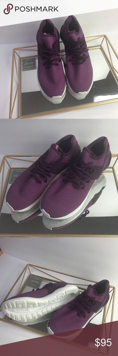 Adidas Tubular Running shoe Sz 9.5 NWOT Brand New Adidas running Shoe. Never worn but has some stains on the bottom from trying out in the Store.. adidas Shoes Athletic Shoes