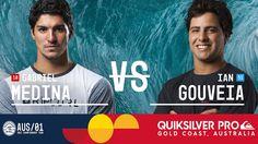 Gabriel Medina vs. Ian Gouveia - Quiksilver Pro Gold Coast 2017 Round Th...