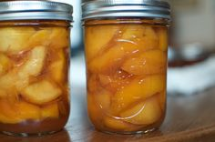 """Gingery Pickled Peaches: """"I particularly like to braise well-salted chicken thighs in a slurry of browned onions slices and pickled peach segments. Served over creamy millet, it's a winner of a dish come November."""""""