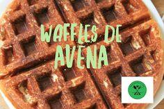 Waffles de avena - BalanceandoLaVida