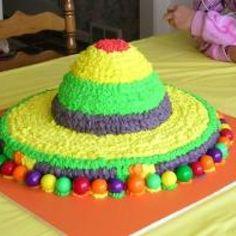 mmmmm sombrero  cake!! (cinco de Mayo)!!!!!!!!!!!!