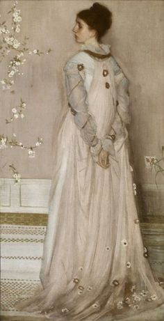 James Abbott McNeill Whistler | 1834-1903, USA | Portrait of  Frances Leyland, 1871-74