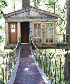tree house design idea - Home and Garden Design Ideas