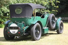 WO Bentley 6 1/2 litre Le Mans Tourer (1928)