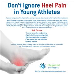 Heel pain in young athletes could be Sever's disease. Here's what to look for.