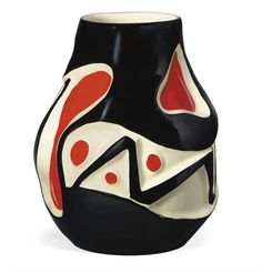 fernand leger and roland brice -  a glazed ceramic vase (c 1950)