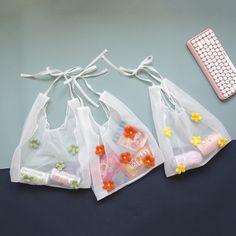 Diy Fashion, Fashion Bags, Leelah, 2 Logo, Embroidery Bags, Japanese Flowers, Fabric Bags, Cute Bags, Green And Orange