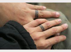 150 Charming Wedding Ring Tattoos Designs cool