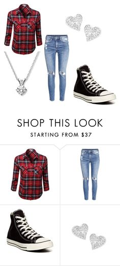 """""""Converse outfir"""" by keke554 ❤ liked on Polyvore featuring beauty, H&M, Converse and Vivienne Westwood"""
