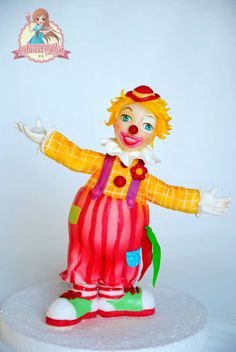 Clown Cake Topper
