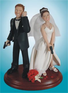 funny motorcycle wedding toppers | Moto Wedding Cake Topper... - Page 2 - Ducati Monster Forums: Ducati ...