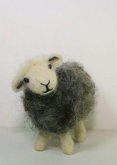 The Herdwick Sheep Traditional Needle Felting door LincolnshireFenn