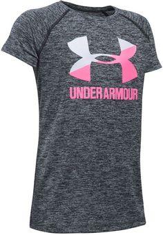6aaada548b9da1 Under Armour Big Girls Heathered Novelty Big Logo T-Shirt   Reviews -  Shirts   Tees - Kids - Macy s