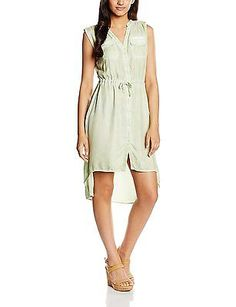 10, Turquoise - T�rkis (Grayed Jade 1005), o.d.m. Women's Sp16-dr102 Dress NEW