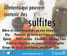 Si vous avez une sensibilité aux sulfites ou connaissez quelqu'un qui en a une, sachez que ces aliments peuvent contenir des sulfites. Soap, Personal Care, Bottle, Fruits And Veggies, Apple, Food, Personal Hygiene, Flask, Soaps