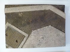 Mark Boyle - The Gisborne Triptych at the Auckland Art Gallery Boyle Family, Auckland Art Gallery, 90s Art, Road Markings, Triptych, Earth, Texture, City, Surface Finish