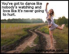 dance sayings