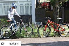 #Repost @daffaph_  yang tabah ya om.. pasti ada cewek yang tertarik kok :)  Karena kecintaanku kepada sepeda lebih besar dari cintaku padamu.(1/3)  #pacificbikes #pacificbikerider #sepeda #sepedagunung #bersepeda #gowes #hardtail #mountainbike #mtbindonesia #crosscountry