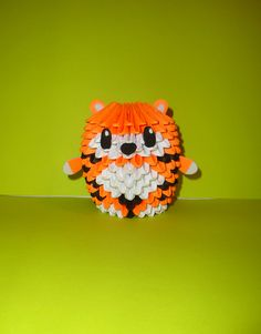 Chubbyz Collection - TAIGA the Tiger Cub 3D Origami Model