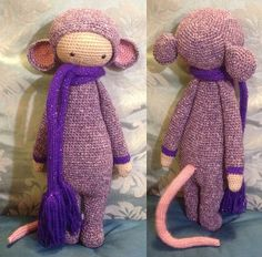 RADA the rat made by Lilliants / crochet pattern by lalylala