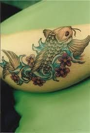 #KOI fish #tattoo