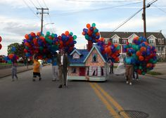 "Great idea is you wanted to follow things up with a movie night of ""Up"""