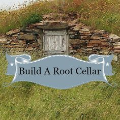 How to build a root cellar – Homesteading Guide
