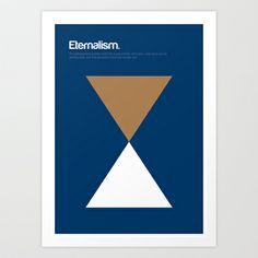 My favorite isms - Eternalism Art Print by Genis Carreras
