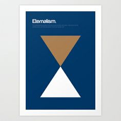 My favorite isms - Eternalism Art Print by Genis Carreras