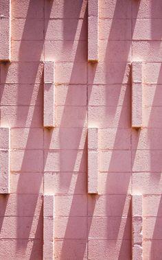 Pink brick | the vamoose : Photo