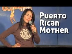 PUERTO RICAN ACCENT. Comedian Shayla Rivera does an impression of her Puerto Rican mother.