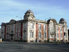 Radcliffe Town Hall, Manchester