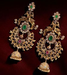 nice Beautiful earrings with intrinsic work must have in collection #IndianJewellery ... by http://dezdemon-jewelty.pw/indian-jewelry/beautiful-earrings-with-intrinsic-work-must-have-in-collection-indianjewellery/