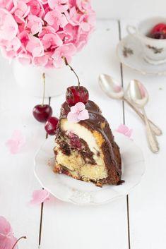 Donauwellen Gugel mit Cheesecake-Füllung-4