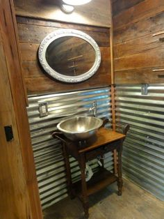 metal rustic sink - Google Search
