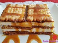 Tarta de galletas y crema de chocolate blanco, Foto 2