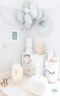 Grey And White Playroom Kid Spaces Baby Bedroom Kids Room Kids Baby Bedroom, Baby Boy Rooms, Baby Room Decor, Nursery Room, Girls Bedroom, Nursery Ideas, Kids Rooms, Nursery Decor, Room Baby